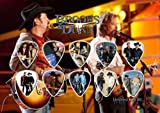 Brooks & Dunn Guitar Pick Display Limited 100 Only