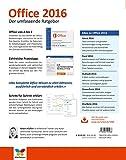 Image de Office 2016: Der umfassende Ratgeber. Auch für Office 365. Mit diesen Tipps gelangen Sie schnell un