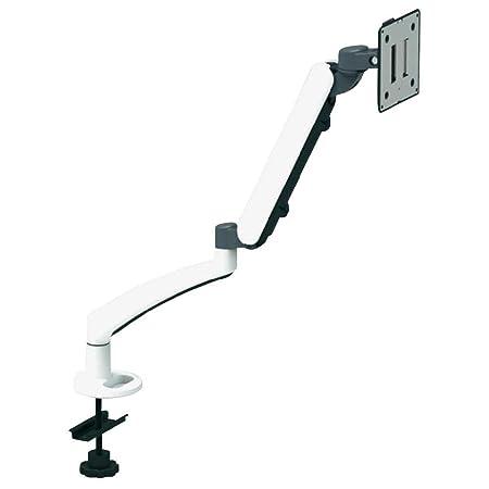 Xergo SuperFlex Monitorhalter 25,4 - 66 cm (10 - 26 ) blanco con Grommet-Klemme
