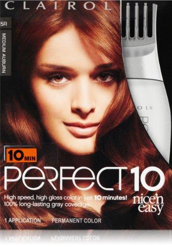 ... Easy Hair Color 5r Medium Auburn 1 Kit (Pack of 2) at Amazon.com
