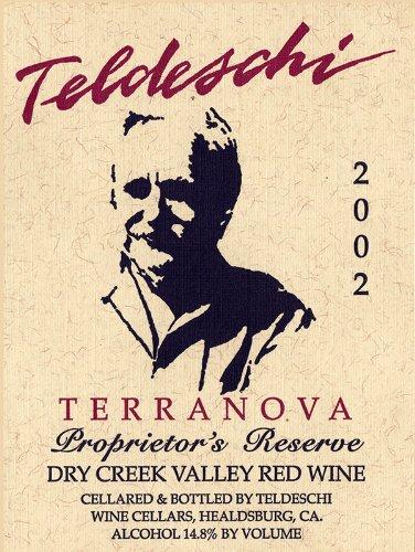 2002 Teldeschi Terranova, Dry Creek Valley 750 Ml