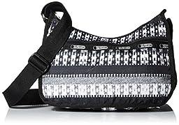 LeSportsac Classic Hobo Handbag, Pull-Over Knit, One Size