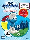 Smurfs Movie Giant Color Book - Smurf Happens!