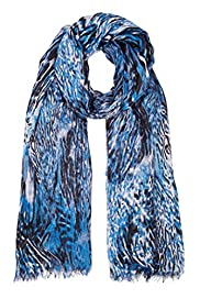 Modal Blend Lightweight Animal Print Scarf [T01-5648-S]