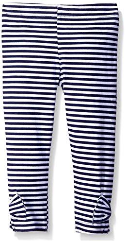 Gerber Graduates Girls Legging, Navy Stripe, 24 Months