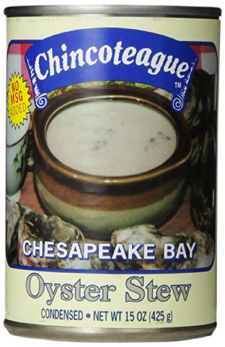 Chincoteague Seafood Oyster Stew, 15-Ounce Cans (Pack of 12)