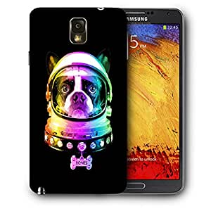 Snoogg Dog Astronaut Designer Protective Back Case Cover For SAMSUNG Galaxy NOTE 3