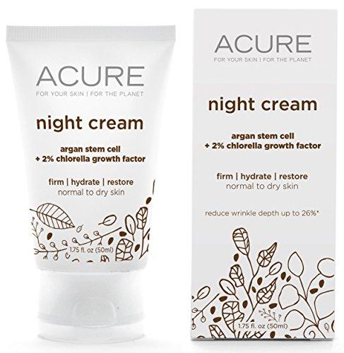 Acure Night Cream - 1.75 Fl Oz