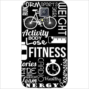 Printland Fitness Phone Cover For Samsung Galaxy S5