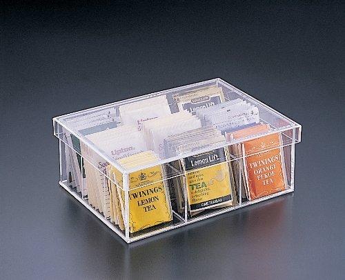 Tea Bag 9 Compartment Box