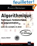 Algorithmique - Techniques fondamenta...