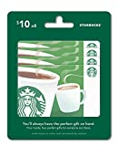 Starbucks Gift Cards, Multipack of 4 - $10