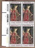 Postage Stamps U.S., Gabriel From Van Eycks Annunciation Block Sc.1363 MNH-VF