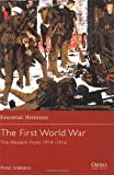 img - for The First World War (2): The Western Front 1914-1916 (Essential Histories) by Peter Simkins (2002-01-25) book / textbook / text book