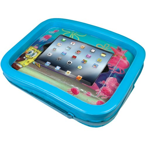 1 - Universal Ipad(R) Spongebob Squarepants(R) Activity Tray, Fits All Ipad(R) Devices, Easily Attaches To Most Strollers, Car Seats Or High Chairs, Nic-Sit front-353024