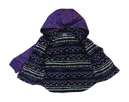 london-fog-girls-waterproof-breathable-shell-fabric-reversible-rain-jacket-purple-age-2t