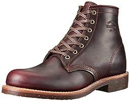Original Chippewa Collection Men\'s 1901M25 Engineer Boot, Cordovan, 10 D US
