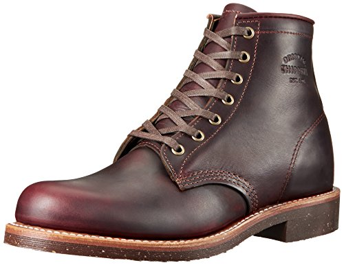 Original Chippewa Collection Men's 1901M25 Engineer Boot, Cordovan, 10.5 D US