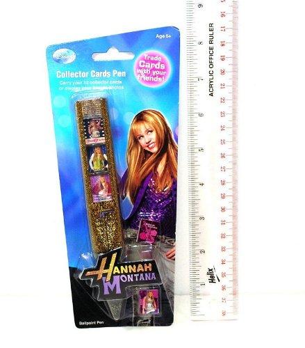 Disney Hannah Montana Collector Cards Pen