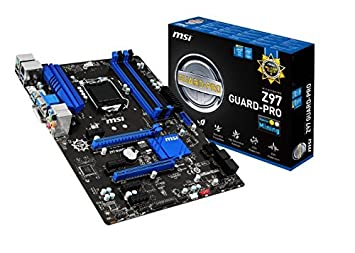 MSI Z97 GUARD-PRO Carte Mère Intel ATX Intel Socket 1150
