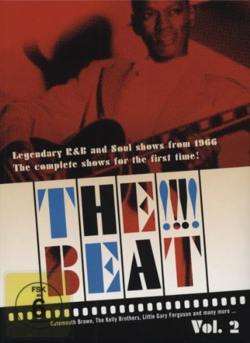 Cover art for  The !!!! Beat: Legendary R&B and Soul Shows From 1966, Vol. 2 (Shows 6-9)