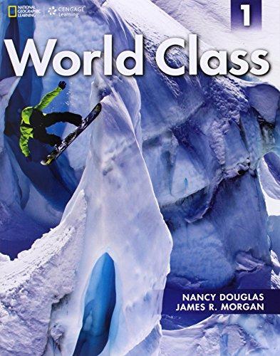 World Class 1: Student Book (Work Class)