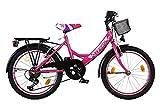 20 ZOLL Kinder Fahrrad Kinderfahrrad Cityfahrrad City Bike Rad Mädchenfahrrad