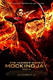 """KATNISS - The Hunger Games: MockingJay Part 2 (2015) Movie Poster, 24 x 36"""" Inches - Theater Quality (THICK 8 Mil) - Jennifer Lawrence, Josh Hutcherson, Liam Hemsworth"""