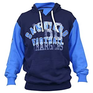 NFL Vintage Look 2-Tone Team Color Hoodie by NFL