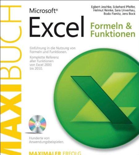 Abbildung: Microsoft Excel: Formeln & Funktionen - Das Maxibuch, 2., aktualisierte und erweiterte Auflage: ... 2010
