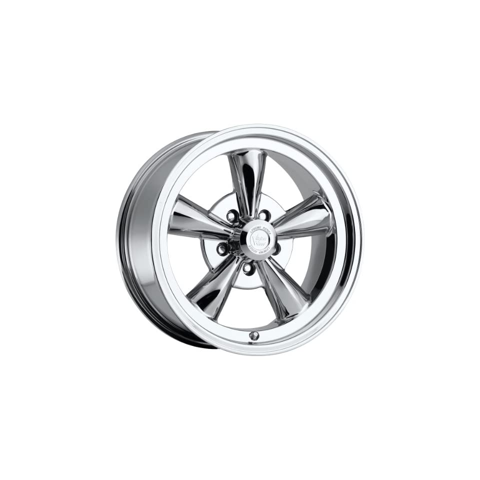 Vision Legend 5 18 Chrome Wheel / Rim 5x4.5 with a 32mm Offset and a 83 Hub Bore. Partnumber 142 8865C32