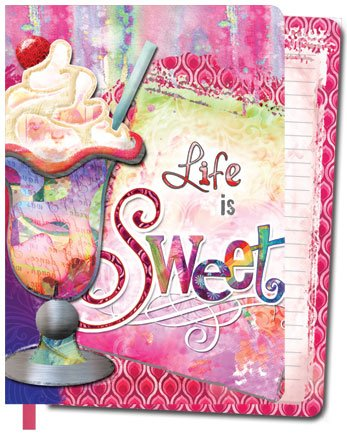Life is Sweet Journal Diary Softback Blank book - 1