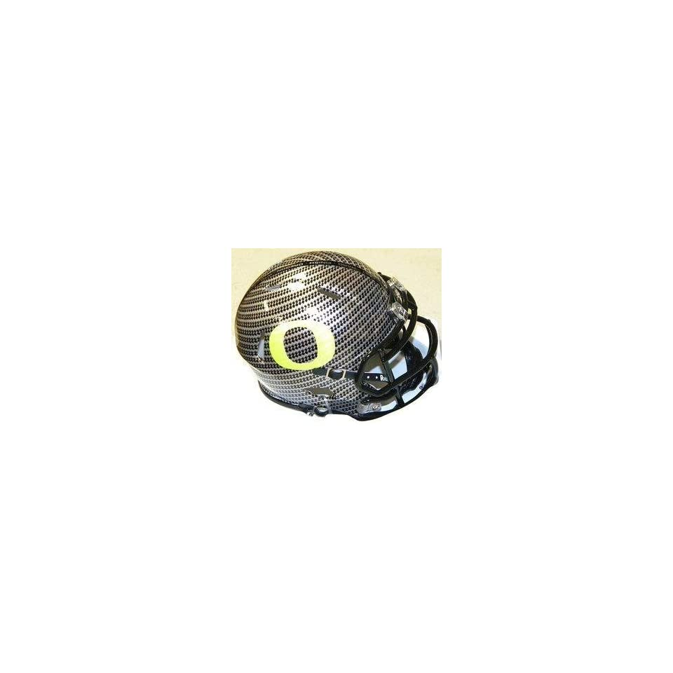 Speed Riddell Autographed Mini Helmet   Oregon   Autographed NFL Mini