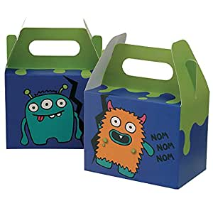 Amazon.com: Ginger Ray Monster Madness Kids Party Boxes (5 Pack