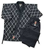 M.A.R International Ltd Hapkido Uniform Gi Suit Outfit Hap Ki Do Clothing Hapki-Do Gear Cotton Fabric Black 180cm
