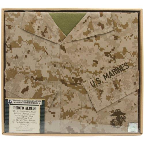 Uniformed U.S. Marine Desert Photo Album