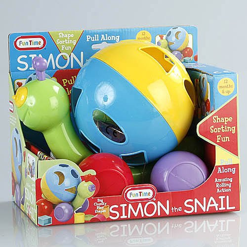 Fun Time Simon the Snail Shaper