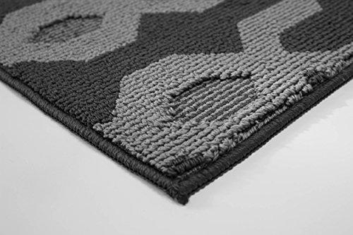 Jean Pierre Kat Textured Decorative Accent Runner, 24 x 60