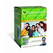 TeenSavers Home Drug Test Kit for Marijuana (THC) - Parental Support Guide, 24/7 Support, and Free Lab Confirmation