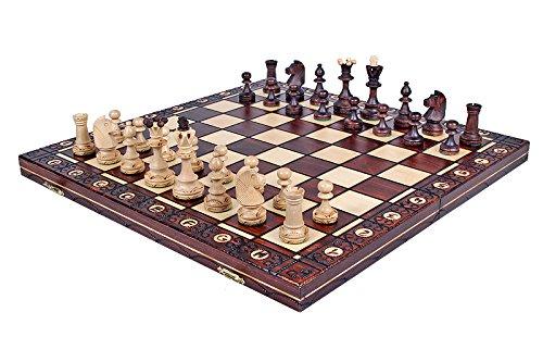 The Zaria - Unique Wood Chess Set, Pieces, Chess Board & Storage 3