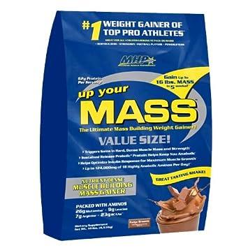 Maximum Human Performance, Up Your Mass, Vanilla, 5-pound Tub
