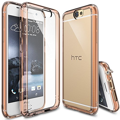 HTC One A9 Case – Ringke® [FUSION] Shock Absorption Crystal Clear Hard Case