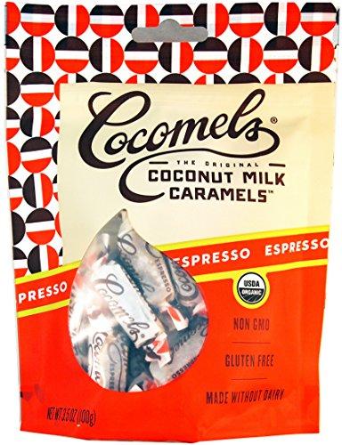 Espresso Cocomels Coconut Milk Caramels - Organic - Dairy Free - Kosher - GMO Free - Espresso 1 Pack (Jj Bean Coffee compare prices)