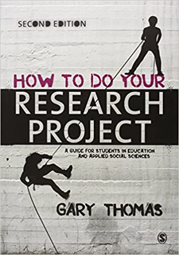 Image: Cover of How to Do Your Research Project: A Guide for Students in Education and Applied Social Sciences