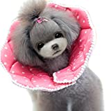 Alfie Pet by Petoga Couture - Noah Recovery Collar (for Dogs and Cats) - Color: Pink, Size: S
