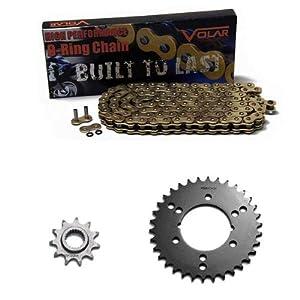 1994-1995 Polaris 400L 2x4 Gold O-Ring Chain and Sprocket Kit