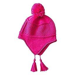 vivobiniya Kid Girl Winter Earcuff Hat Toddler Girl Knitted cap 0-7T (2-7T)