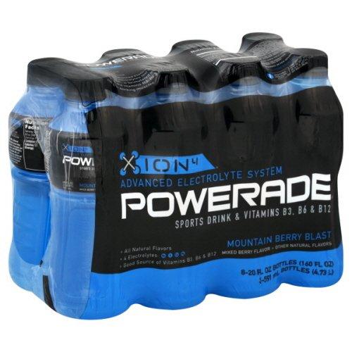 Amazon.com : Powerade ION4 - Mountain Berry Blast - 8 Pack (20oz