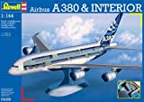 """Revell - 4259 - Maquette d'Avion - Airbus A380 """"Visible Interior""""..."""