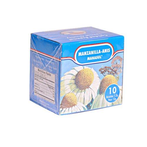 Manasul Chamomile Anise Teas 10 Bags